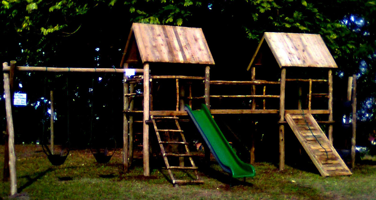 Wooden Range Playground World