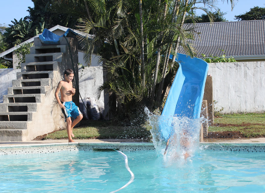Slides playground world for How to build a swimming pool slide