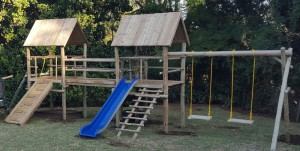 playground-world-twix-double-platform-jungle-gym-special-wood-R999-treated-sabs