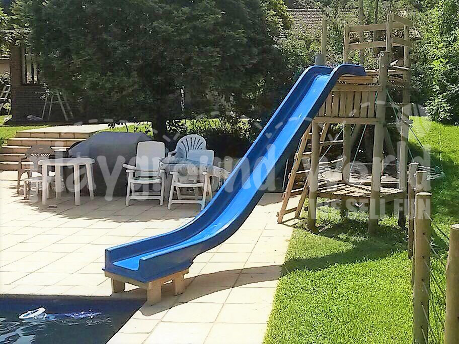 4m Jungle gym + water slide